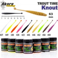 AKARA SOFTTAIL «Trout Time KNOUT 2,5» #02T Cheese