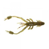 "REINS RING SHRIMP 2"" Watermelon Red Flakes"