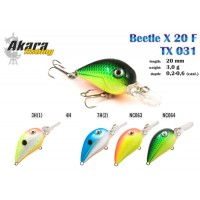 Akara Beetle X 20 F TX031-3H-1