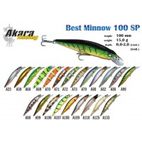 AKARA Best Minnow 100 SP A23