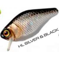 Jackall Chubby HL Silver&Black